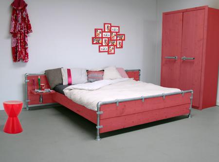rood bed  blauw bed  geel bed  groen bed  zwart bed  wit ...